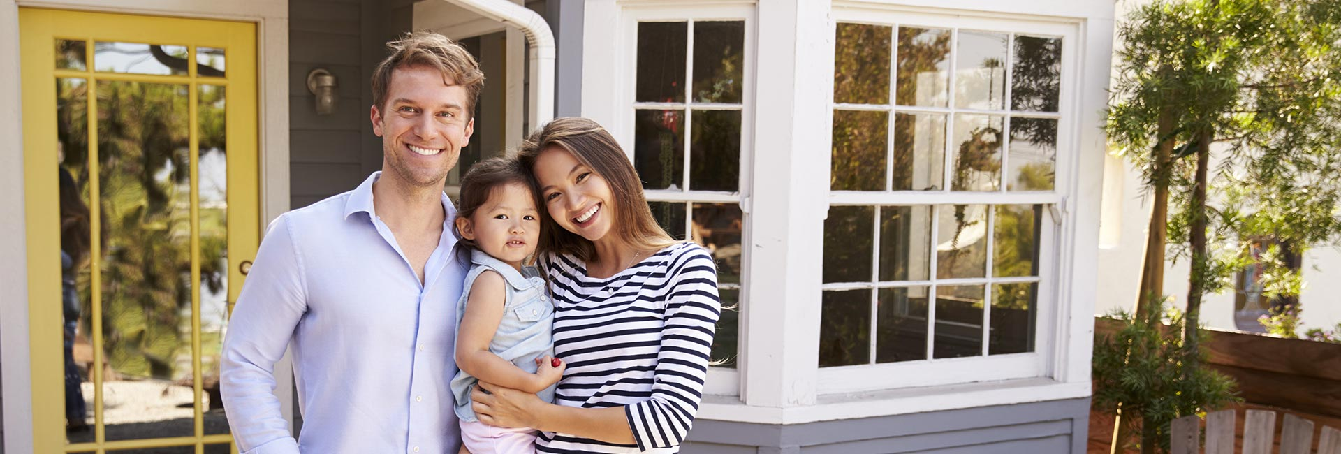 Happy Family with Excellent Customer Service of Unbeatable Mortgages